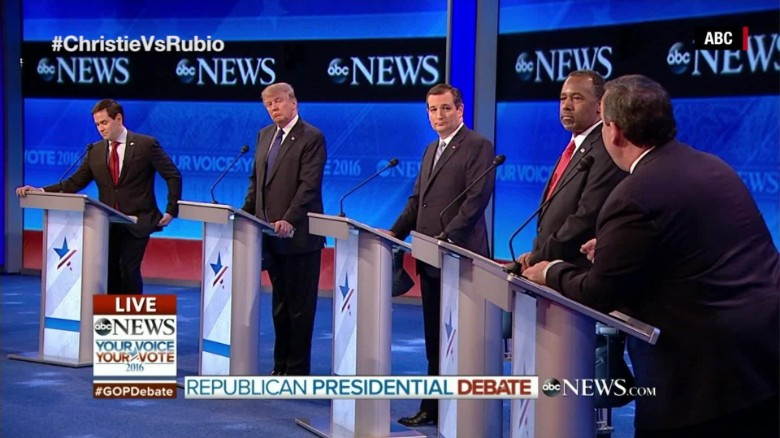 The ABC GOP Debate in 90 seconds