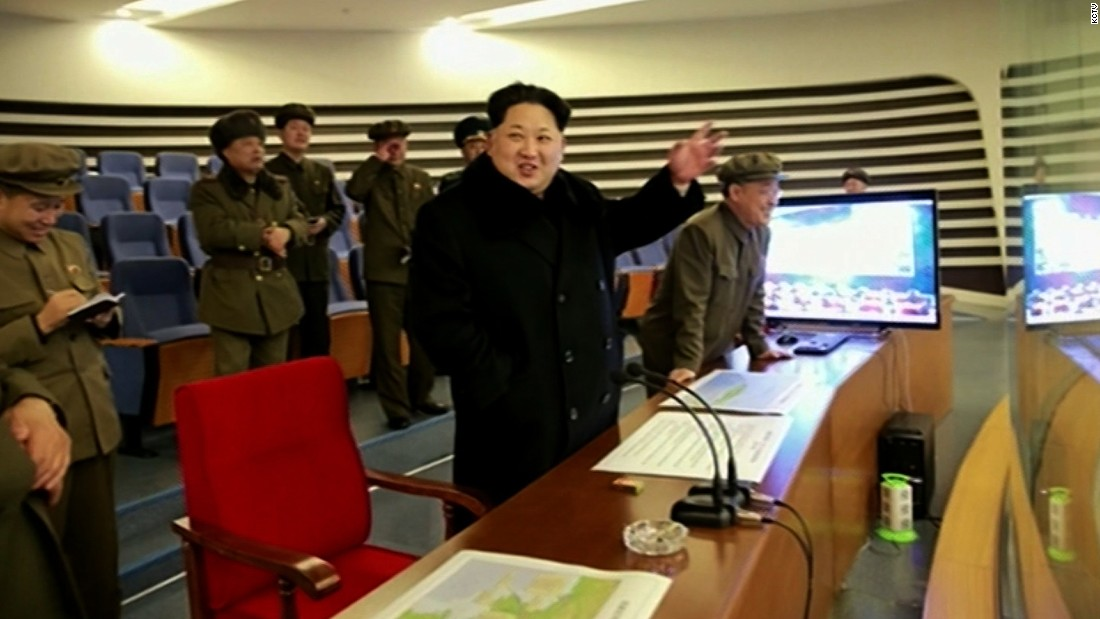 A state TV newsreader said the operation had been personally ordered and directed by North Korean leader Kim Jong Un.