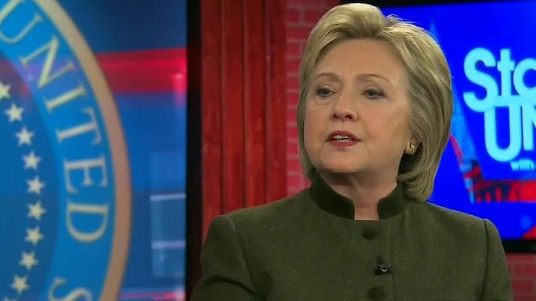 Clinton: 'We are still living with a double standard'