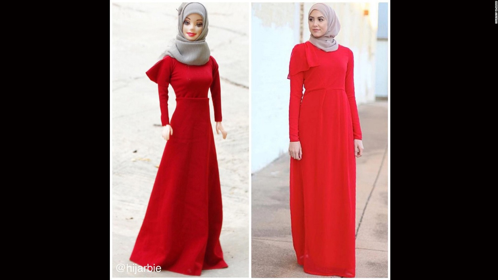 Hijarbie How Barbie Got A Muslim Makeover Cnn Style Boneka