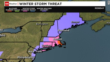 Winter storm threat
