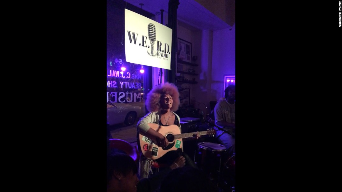 WERD, which became America's first black-owned radio station in 1949, is now used as a space for Atlanta artists to perform on Wednesday nights.