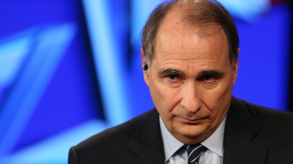 Political analyst David Axelrod attends a Democratic presidential debate sponsored by CNN and Facebook at Wynn Las Vegas on October 13, 2015 in Las Vegas, Nevada.