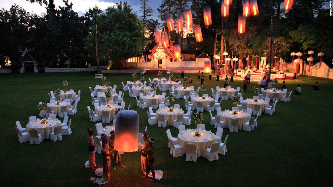 Dhara Dhevi is a luxurious retreat in Chiang Mai, northern Thailand, offering 60 acres of grounds in which to wander.