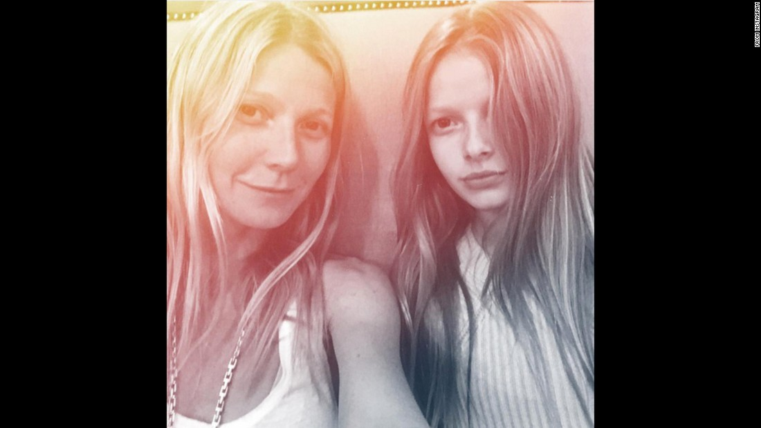 In February, Gwyneth Paltrow posted a selfie with her lookalike daughter, 11-year-old Apple Martin, on Instagram.