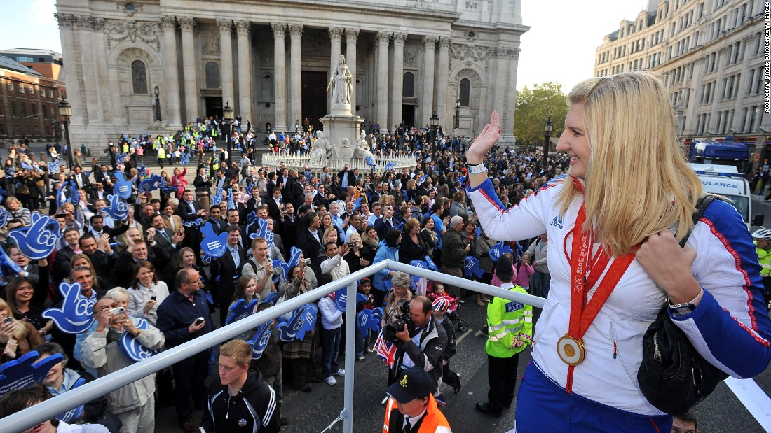 "Fellow Team GB Olympian Rebecca Adlington was another to exit the show after dislocating her shoulder attempting a jump. She described the pain as ""worse than childbirth."""