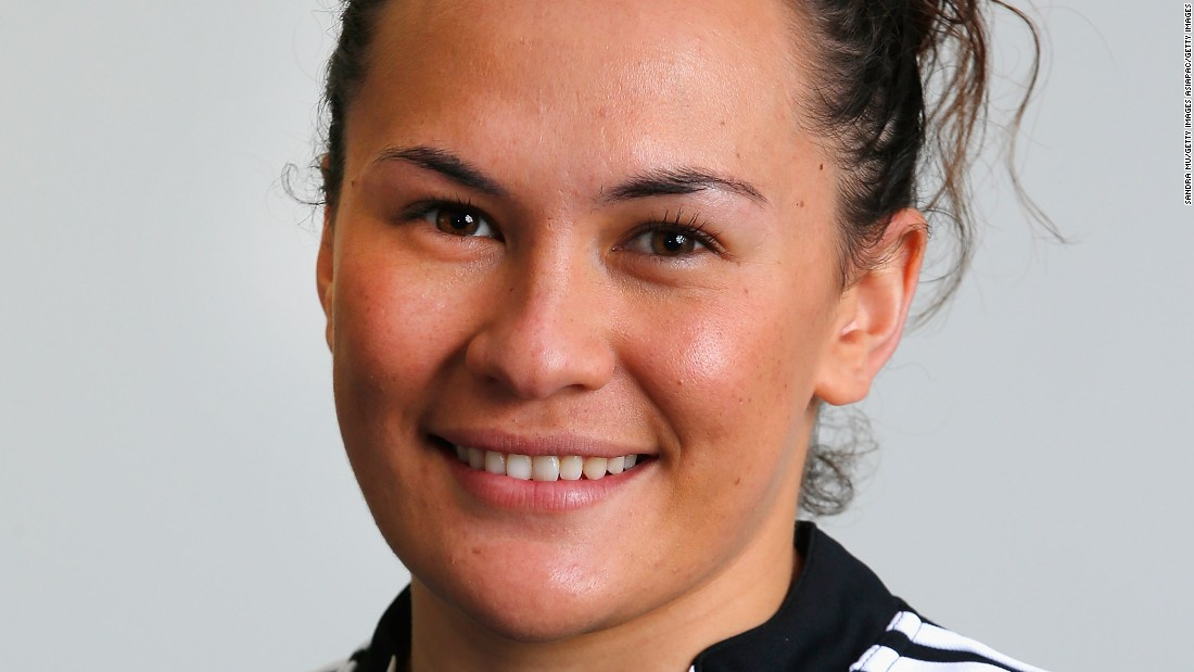 "She is proud to follow in her father's footsteps, and channels the famed All Blacks mentality on the pitch. ""We do the haka if we've won a tournament or if we feel particularly confident,"" she says.  <br />"