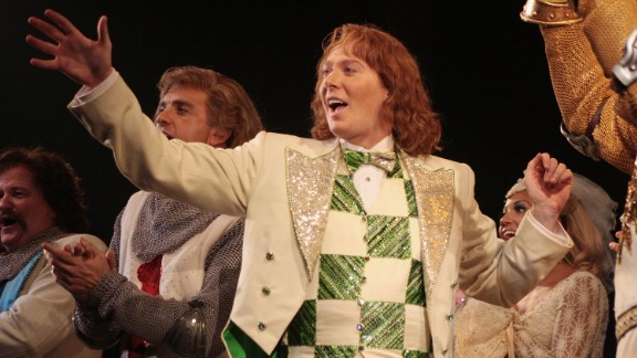 """Monty Python on Broadway? Eric Idle got the blessing of his cohorts to turn """"Monty Python and the Holy Grail"""" into a musical, and the result won three Tonys, including best musical, in 2005. It ran for more than 1,500 performances and has toured all over the world. At one point, Clay Aiken, pictured, joined the cast as Sir Robin."""