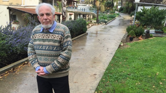 Albert Ely, 79, has been a kibbutznik for almost 60 years. In 1963, he was in charge of the American and French volunteers -- a group that would have included Bernie Sanders.