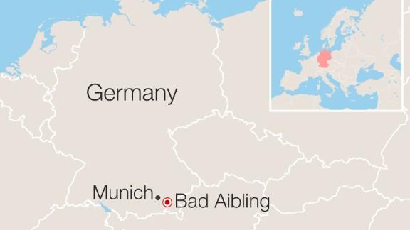 Map: Bad Aibling, Germany