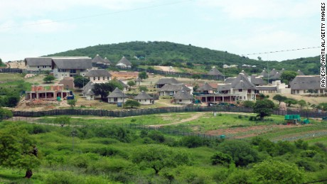 A picture of President Jacob Zuma's private residence in Nkandla, taken on November 4, 2012.