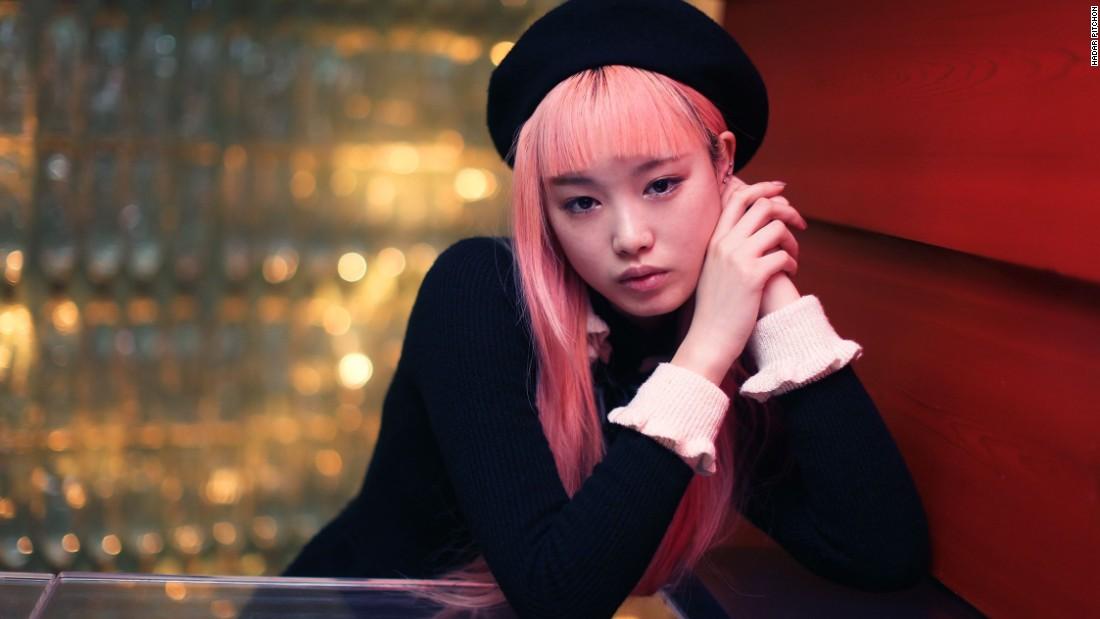 Japan model girl video read