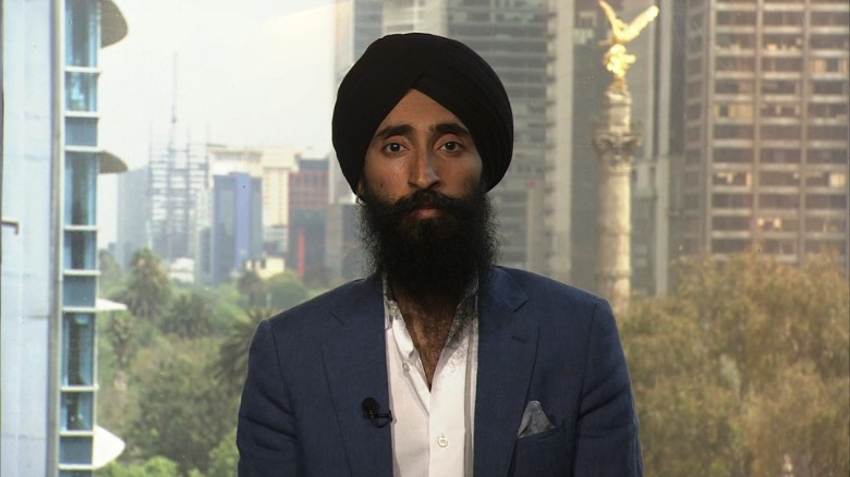 Sikh actor Waris Ahluwalia: 'This is about education'