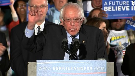 Bernie Sanders' New Hampshire victory speech