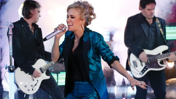"Carrie Underwood first became known to audiences with her 2005 win on ""American Idol."" In 2007, the Oklahoma country singer won best new artist at the Grammys, one of many awards she has on her shelf. Her more recent hits include ""Blown Away"" and ""Two Black Cadillacs."" She's also done some acting, starring as Maria von Trapp in NBC's live version of ""The Sound of Music."""