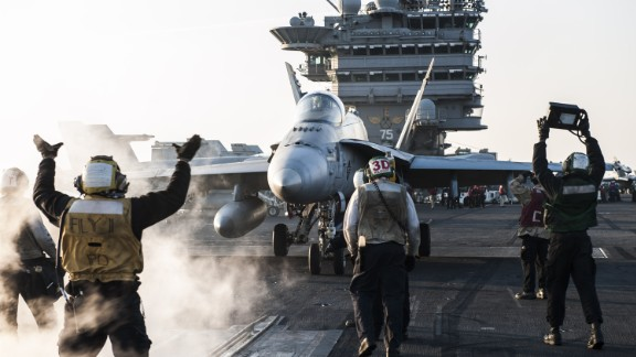 The budget request also includes two F/A-18 Hornet fighter jets.