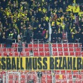 Dortmund football protest