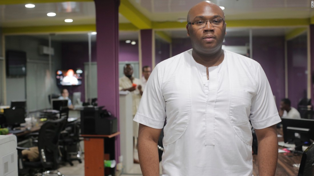 Jason Njoku, 35, founder and CEO of iROKO, the most popular video streaming platform in Africa.