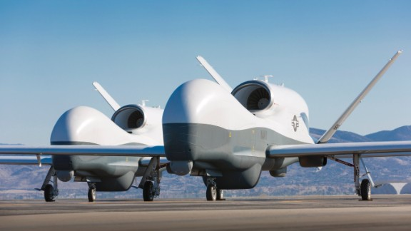 "The Pentagon wants $759 million for two MQ-4C Tritons. It says the drones will ""maximize capabilities and extend the reach of our airborne systems."""