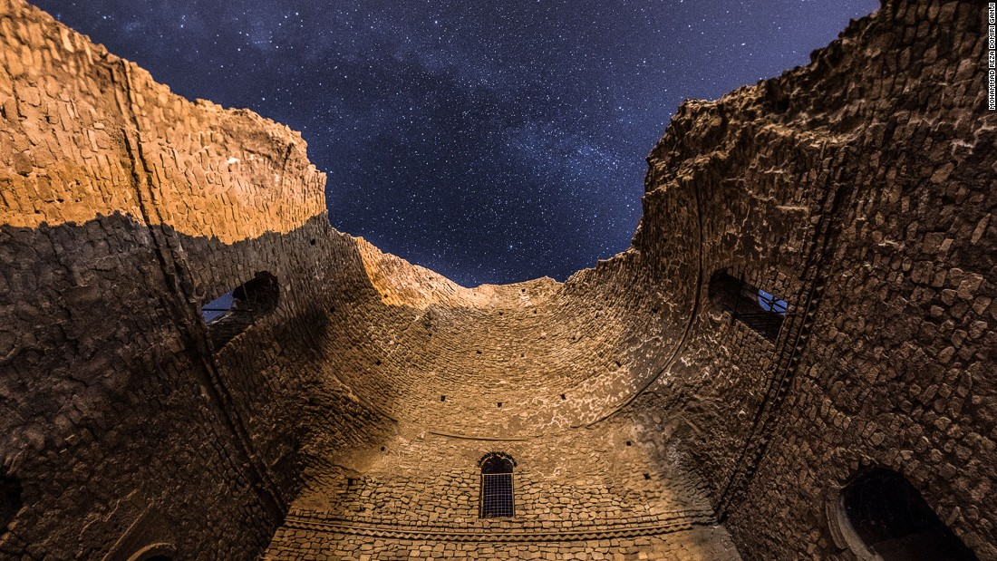 Third-century Persian ruler Ardashir I -- the founder of Iran's Sassanid Empire -- built this palace for himself.