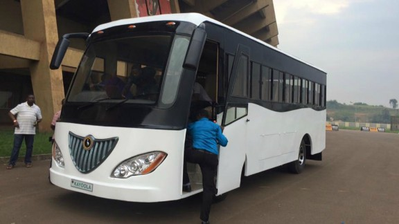 Ugandan company Kiira Motors has launched Africa's first solar powered bus -- and plans to expand the country's solar vehicle industry.