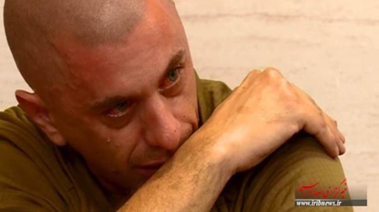 Iran video appears to show U.S. sailor in tears