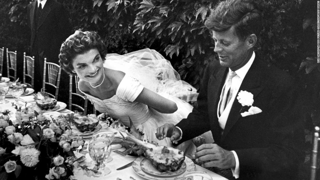 In September 1953, shortly after becoming a U.S. senator, Kennedy, then 36, married 24-year-old Jacqueline Bouvier, a writer with the Washington Times-Herald.