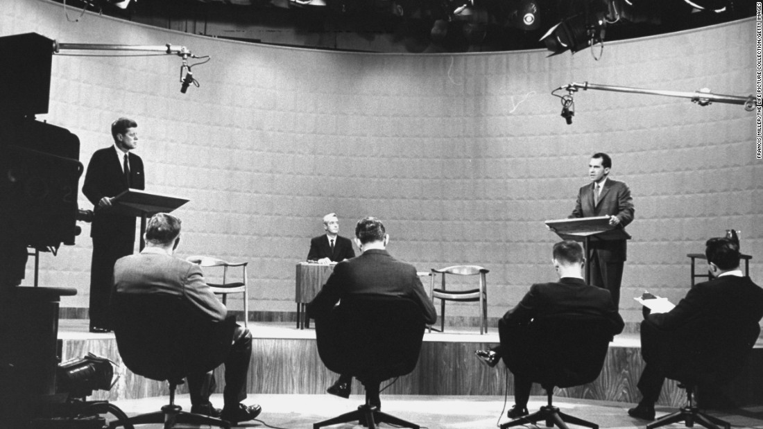 "Kennedy ran for president in 1960 and faced Vice President Richard Nixon after securing the Democratic Party's nomination. The candidates participated in <a href=""http://www.cnn.com/2015/09/24/politics/gallery/tbt-kennedy-nixon-debate/index.html"" target=""_blank"">the first televised presidential debate,</a> which is widely seen as instrumental in securing Kennedy's victory."