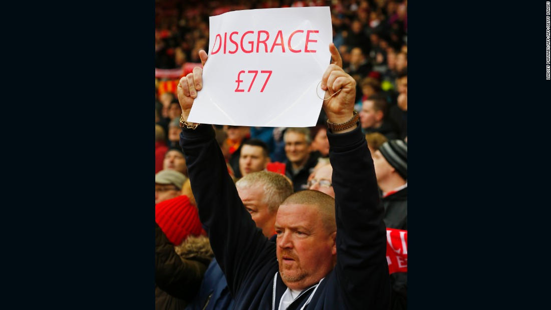 FSG's proposals sparked fury among the club's supporters, many of them protesting in the recent home league match with Sunderland.