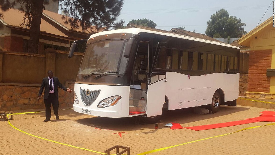 Ugandan company Kiira Motors Corporation is launching Africa's first solar-powered bus. CEO Paul Isaac Musasizi hopes to greatly expand the country's solar vehicle industry.