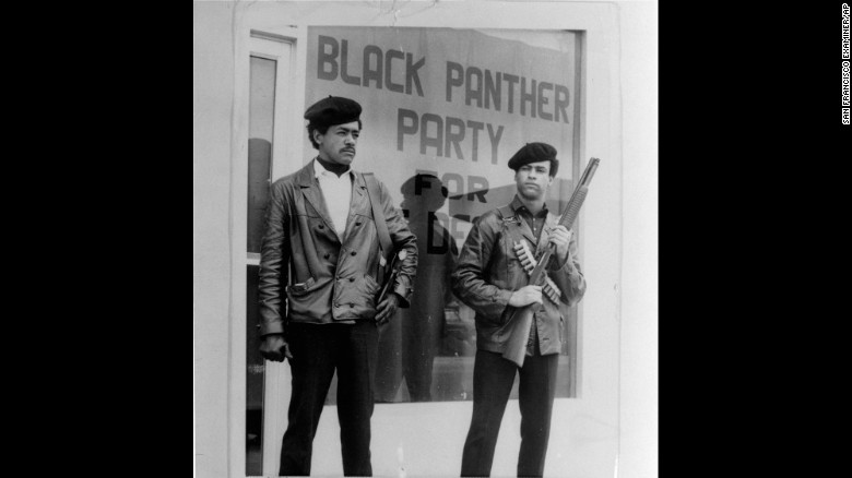 Black Panther National Chairman Bobby Seale Left Wears A Colt 45 And