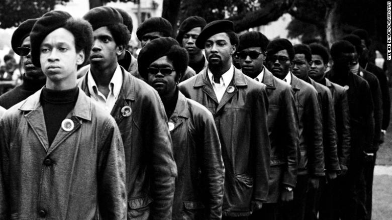 "How could singing ""We Shall Overcome"" compete with the defiance and black leather jackets of the Black Panthers?"