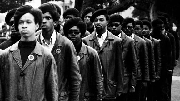 """How could singing """"We Shall Overcome"""" compete with the defiance and black leather jackets of the Black Panthers?"""