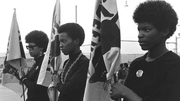 """The Black Panther Party weren't just revolutionaries, they were fashion trendsetters. Their Afros and emphasis on """"black is beautiful"""" changed how blacks dressed and carried themselves in the late 1960s and early 1970s."""
