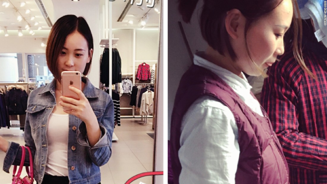 "Chen Fei thinks it's fun to show the contrast between her fashionable city outfits and ordinary village wear. ""I am what I am. [I can be] different flowers,"" she wrote on Weibo."