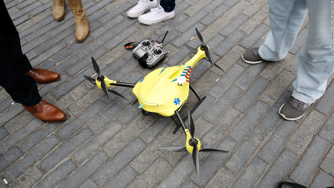 In the future, drones could save your life - CNN