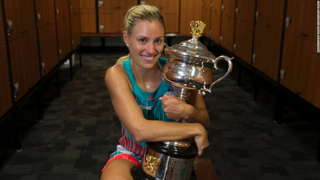 Kerber was soon being congratulated by her fellow players, past and present, on social media.