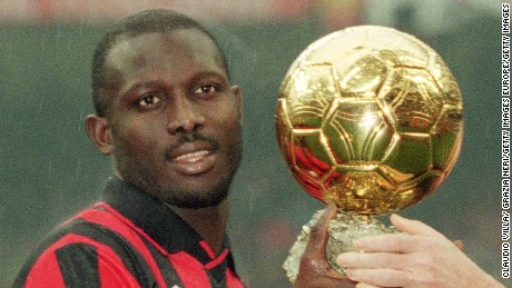 Like father, like son: George Weah's 15-year-old son scores five in one game