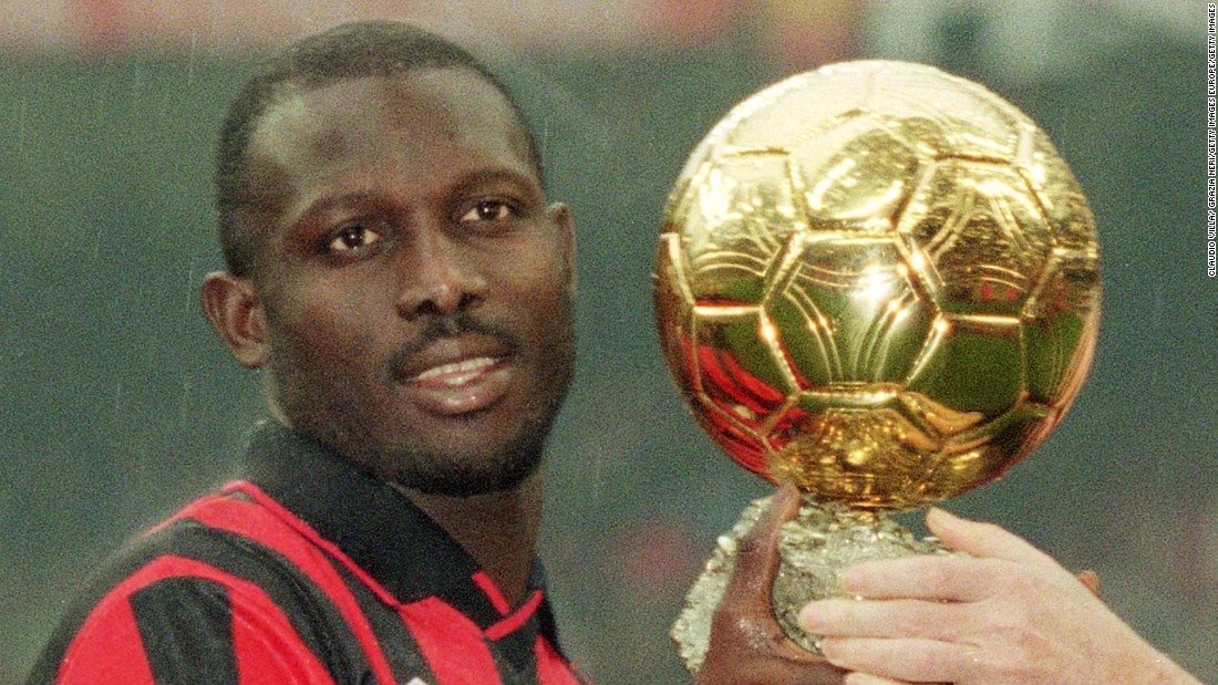 Wenger signed Liberian player George Weah while at Monaco. He went on to become the first, and only African player to date, to win FIFA World Player of the Year.