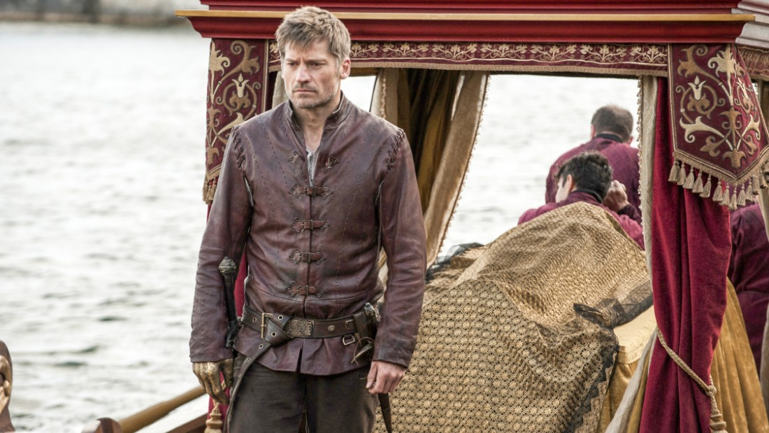 Jaime Lannister (Nikolaj Coster-Waldau) was last seen in Dorne and could have revenge on his mind. New trailers show him leading an army to the gates of the Sept and confronting the High Sparrow.