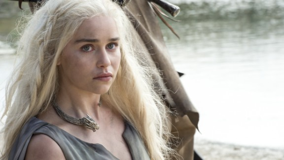 Fan favorite Daenerys Targaryen (Emilia Clarke) is in danger of seeing her empire crumble in season 6. She was last seen in perilous circumstances, surrounded by a Dothraki horde, although Jorah -- and possibly a dragon or two -- may be coming to her aid.