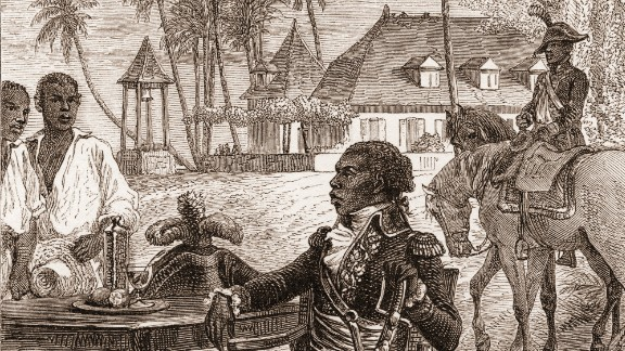Gen. Toussaint Louverture led the successful Haitian Revolution that began in 1791. Initially, it was a slave revolt against French colonialists. By its end in 1804, yellow fever had decimated the colonial forces.