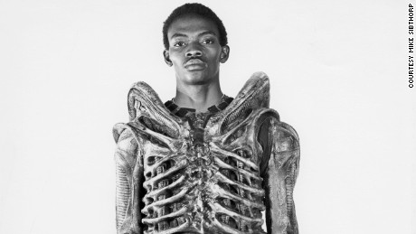 Bolaji Badejo: the man who played Alien - CNN