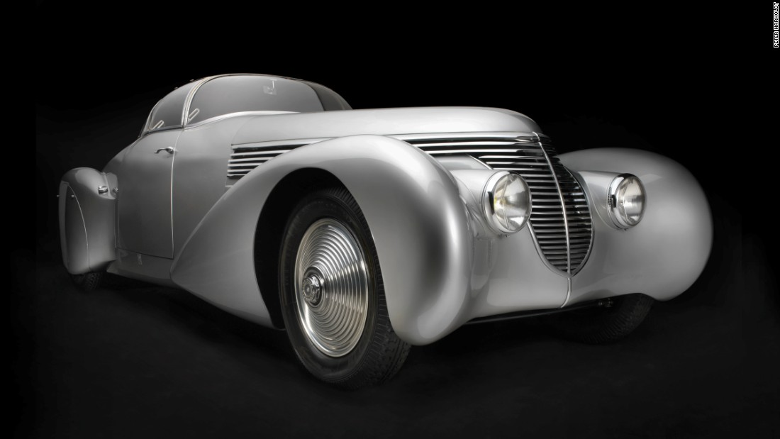 Sculpted in Steel: Artful construction of automobiles - CNN Style