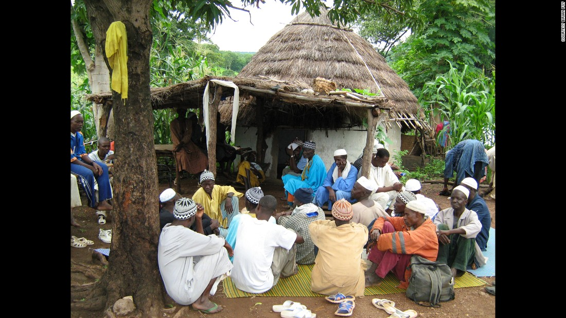 Villagers in Ndebou, Senegal, are part of a study on a parasite drug called ivermectin. The blood of villagers taking this medication seems to kill any mosquitoes that bite them.