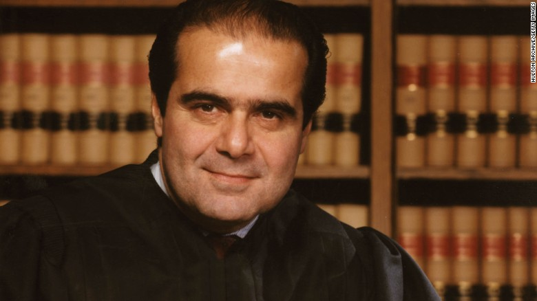 Antonin Scalia known for sharp mind and brash demeanor