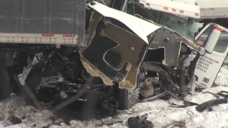 At least 60 cars crashed on Interstate 78 in Pennsylvania