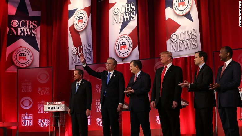 The CBS Republican debate in 2 minutes