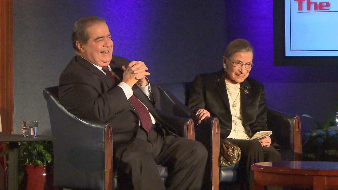 Scalia's son reflects on his late father's friendship with Ginsburg in a series of moving tweets