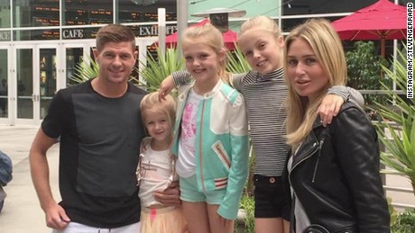 Steven Gerrard: I have peace and quiet in L.A.